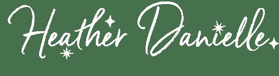 Heather Danielle White Primary Logo
